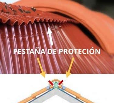 Construir tejados ventilados