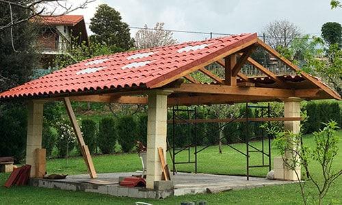 ¿Cuánto cuesta construir un tejado?