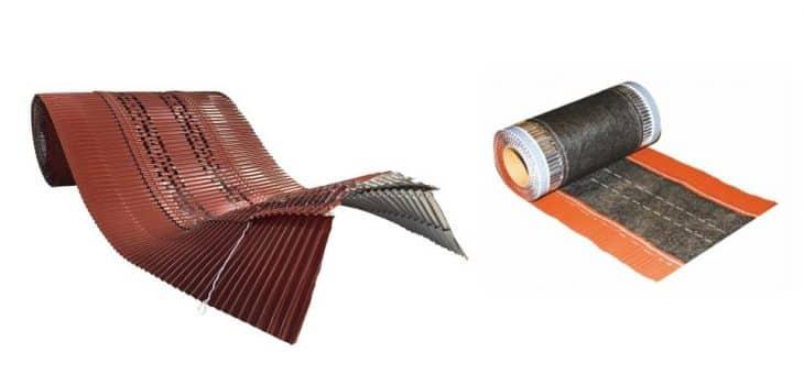 COMPARATIVA: Lámina bajo teja cumbrera aluminio – Lámina bajo teja cumbrera mixta